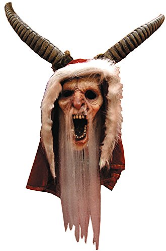Trick or Treat Studios Krampus Movie Full Head Mask, Red, One-Size - Krampus Costumes