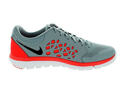 Nike Flex Experience Rn 5 Scarpa Da Corsa Grigio Tortora / Cremisi Brillante / Bianco / Nero