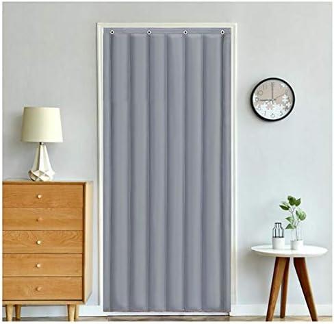 SHIJINHAO ドアカーテン厚い綿のカーテン冬の熱保護世帯のドアパネル防水防音戸口ヘビーデューティスクリーンドア防風カーテン (Size : 1.3x2.2m)