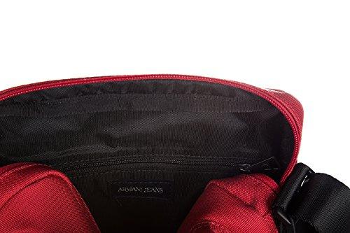 Armani Jeans sac homme bandoulière rouge