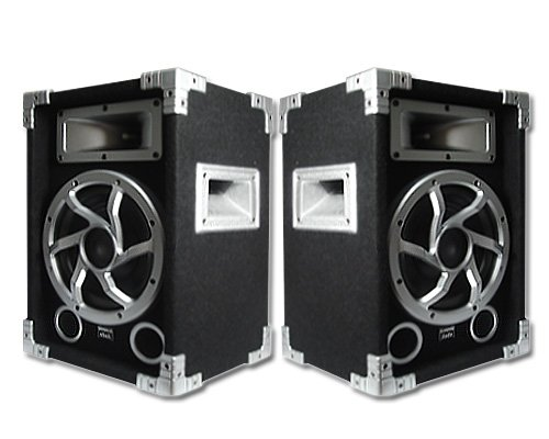 Acoustic Audio GX-450 PA Karaoke DJ Speakers 1400W 2 Way Pair