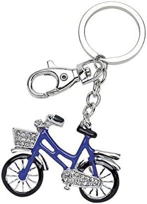 Ten Llavero Bicicleta Azul y Negro con Purpurina cod.EL3044 cm ...