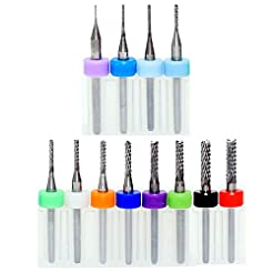 End Mill Sets, Tungsten Steel CNC Router...