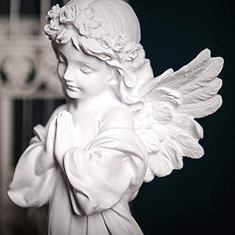 PRDECE Statue Salon Statuette Exterieur Deco Jardin de Interieur Ornements Creative Edition Angleterre Street Art Jeter Une Statue de Sculpture en r/ésine de Fleur