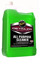 Meguiar's All Purpose Cleaner is ideal for reconditioning all interior surfaces. The superior foaming action gently lifts the dirt away while its unique blend of fabric softeners and optical brighteners enhance the look and feel of carpet, up...
