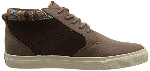 Reef Mens Outhaul Premium Flanelle Marron Sneaker 8,5 D (m)