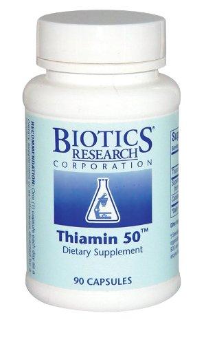 Biotics Research Thiamine 50 90 Capsules