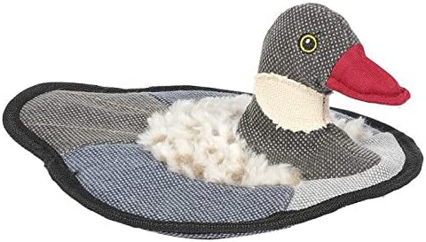 Dog Toy Puddle Duck Puddle Goose Strong Durable Floating Training Interactive (Puddle Goose)