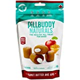 Presidio Natural Pillbuddy Naturals Peanut butter and apple (Pack of 2)