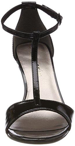 Col black Nero T Cinturino Tamaris Donna Patent Scarpe Tacco Con A 28392 vwBqEg