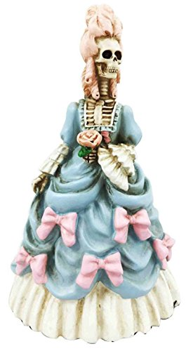 Ebros Day of The Dead Skeleton Dauphine Queen of France Marie Antoinette Figurine High Fashion Aristocrat ()