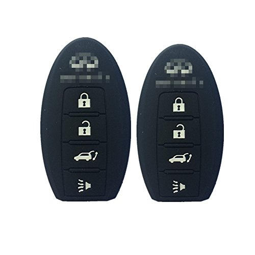 a-pair-black-key-skin-jacket-silicone-remote-key-fob-cover-bag-holder-4-buttons-for-infiniti-ex35-fx