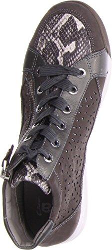 Grigio 34441 Grigio 12 Rom Ara Donna Pantofole Stivaletto STF a UTWvf18