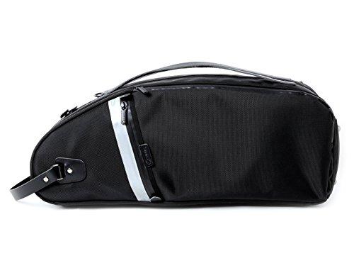 Curtis Bags Dulcinea Saxophone Insulation Case - Alto Semi-Hard Leather Trim One Size Black Trim by Curtis Bags