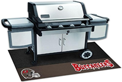 FANMATS - 12203 - NFL - Tampa Bay Buccaneers Grill Mat 26x42