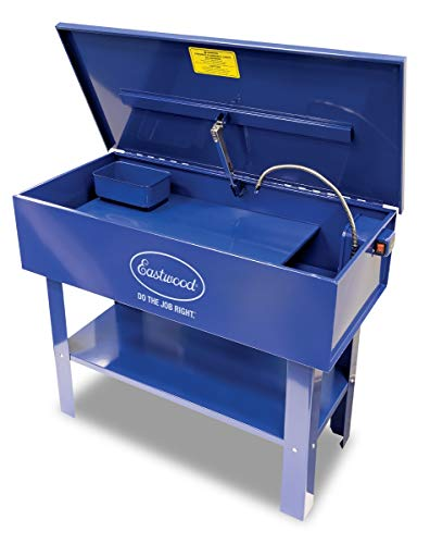 Eastwood 40 Gallon Part Washer Steel Construction 10In Deep - Parts Tank Cleaning