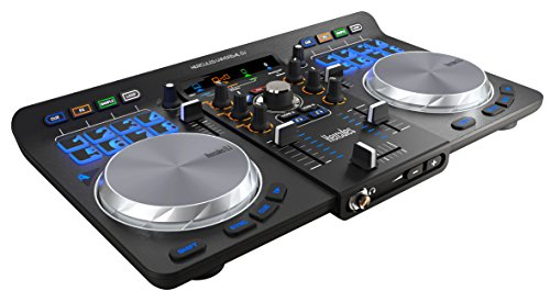 Hercules Universal DJ | Bluetooth + USB DJ controller with wireless tablet and smartphone integration w/ full DJ Software DJUCED included