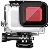 SyndeRay Diving Housing with Red Dive Filter for Gopro HERO(2018) HERO5 Black GoPro HERO6 Black