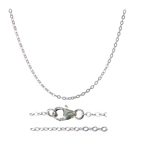 14 30 Nickel Sterling Silver Necklace product image