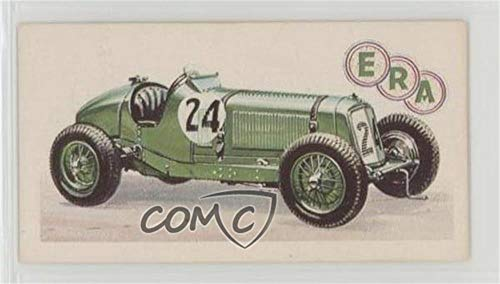 1934 E.R.A. Supercharged 1 1/2 Litres (G.B.) (Trading Card) 1968 Brooke Bond History of the Motor Car - [Base] #35