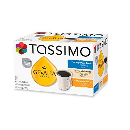 Tassimo Gevalia Kaffee Limited Edition 46 T-Disc Value Pack