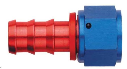 Socketless Hose Fitting - Aeroquip FCM1514 Aluminum -10AN Socketless Straight Hose Fitting