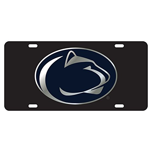 Penn State Tag LASER BLK NITTANY LION TAG