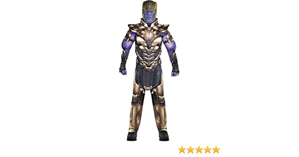 LED Light Up Glove Cosplay Costume Props Accessories Gold ZealBoom Infinity War Thanos Gauntlet for Adult