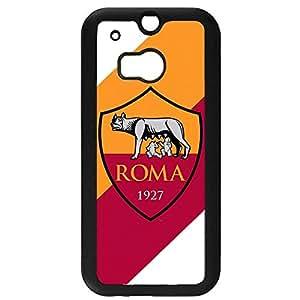 Associazione Sportiva Roma Logo Phone Case Black Hard Plastic Case Cover For Htc One M8