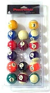 Juego de bolas de billar americano Powerglide 1 7/8: Amazon.es: Juguetes y juegos