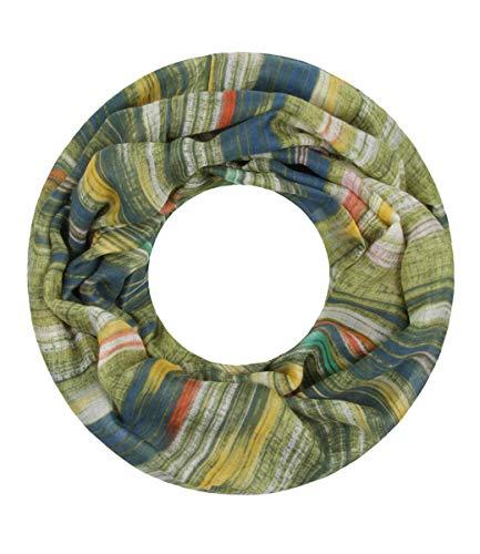 Majea super weicher Damen Loop Schal viele Farben Muster Schlauchschal Halstuch in aktuellen Trendfarben