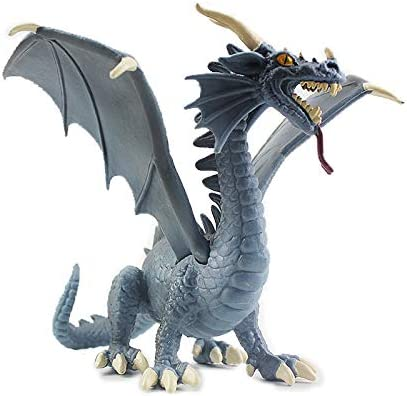 Amazon Com Warmtree 6 Inch Realistic Dragon Model Plastic Flying Dragon Figurines Gifts For Collection Home Kitchen