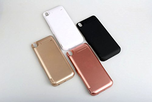 Compatible Oppo R9 Plus Battery Battery Charger Case - Portable Battery Case Slim Extended Battery Juice Power Bank for Oppo R9 Plus Battery (Rose Gold)
