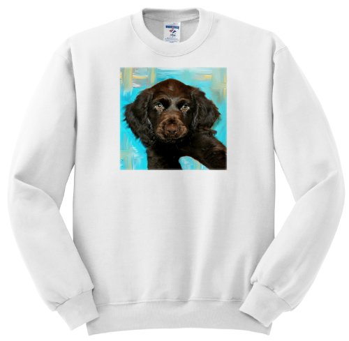 Boykin Spaniel Puppy - Youth SweatShirt Med(10-12)