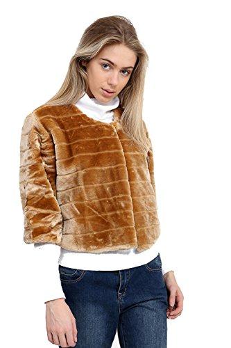 7 Fashion Road Damen Mantel Camel