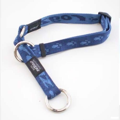 Rogz Alpinist Everest Blue Choker Half-Check - XLarge