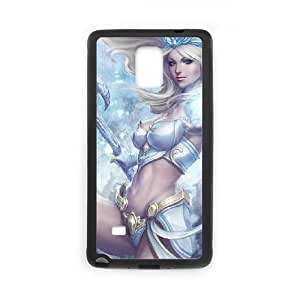 Samsung Galaxy Note 4 Cell Phone Case Black League Of Legends akw