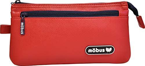 [モーブス] MOBUS 4ポケット ペンケース ポーチ 筆箱 小物入れ