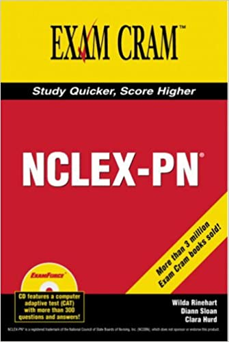 graphic relating to Nclex Cram Sheet Printable referred to as NCLEX-PN Take a look at Cram: 9780789732675: Prescription drugs Conditioning Science