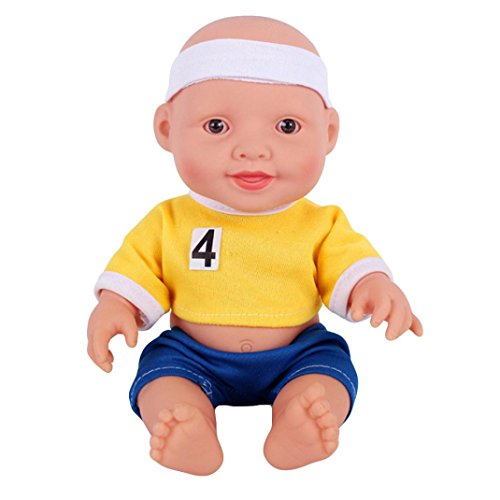 - Sunward 18 inch Doll, The 2018 Russia FIFA World Cup Movable Joint Doll Toy Doll Best Gift Toy (B)