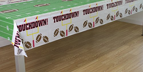 Pack of 3 Game Day Football Touchdown Tablecover 54″x108″ by Oojami