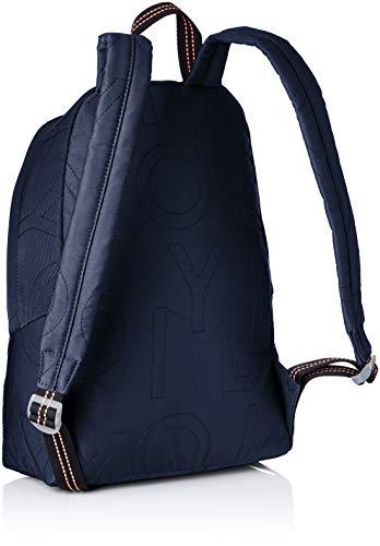 Oilily - Bolso mochila de Sintético Mujer, color Azul, talla 15x40x28 cm (B x H x T): Amazon.es: Zapatos y complementos