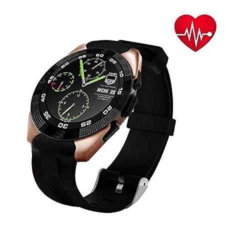 Smartwatch con Pulsómetros,alta sensibilidad pantalla táctil ...