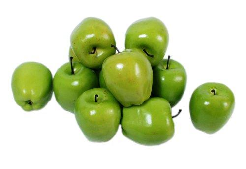Kiera Grace Decorative Fruit Vase Fillers 12 Green Apples Home Garden Jars
