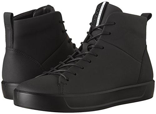 Men's Hombre 11001 8 Ecco Negro Alta Soft black Zapatilla Para FwxqEYz