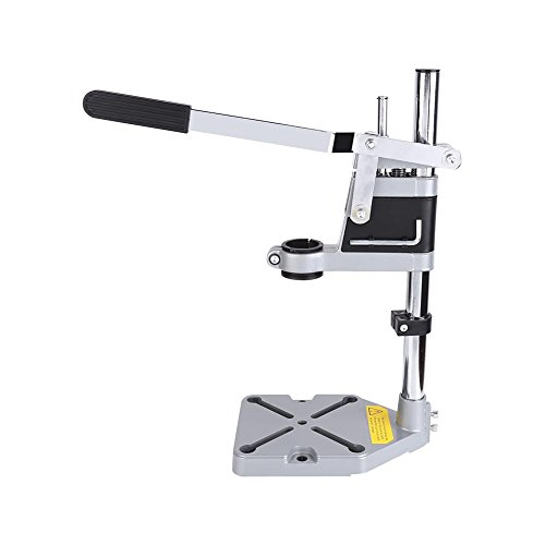 Drill Stand for Hand Drill,Adjustable Drill Press Stand for Drill Workbench Repair Tool Universal Bench Clamp Support Tool for Drilling Collet Workshop