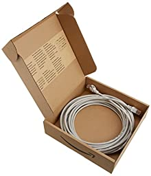 AmazonBasics RJ45 Cat-5e Network Ethernet Cable - 25 Feet (7.6 Meters)