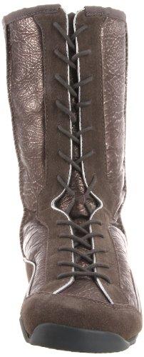 Koolaburra Womens Micah Metallic Lace-Up Boot Gunmetal mltAWFnfJ