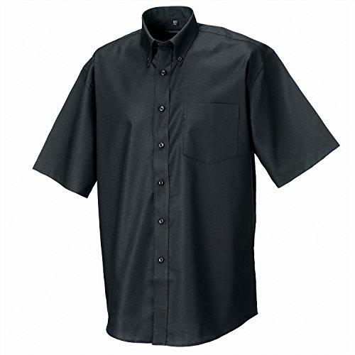 Russell Sammlung Short Sleeve Easycare Oxford-Hemd - Aztec Blue - 19.0