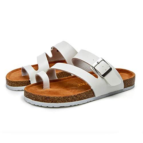 Slide Chaussures Maison En Sole Soft Plage Bain Extérieur Femmes Plates Antidérapantes Piscine Blanc Sandal Intérieur Usage Foam Accueil De Pour Liège Lianmengmvp Pantoufles gHCwqF
